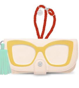 cream colorblock sunglasses