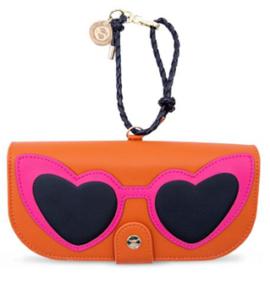 heart glasses orange